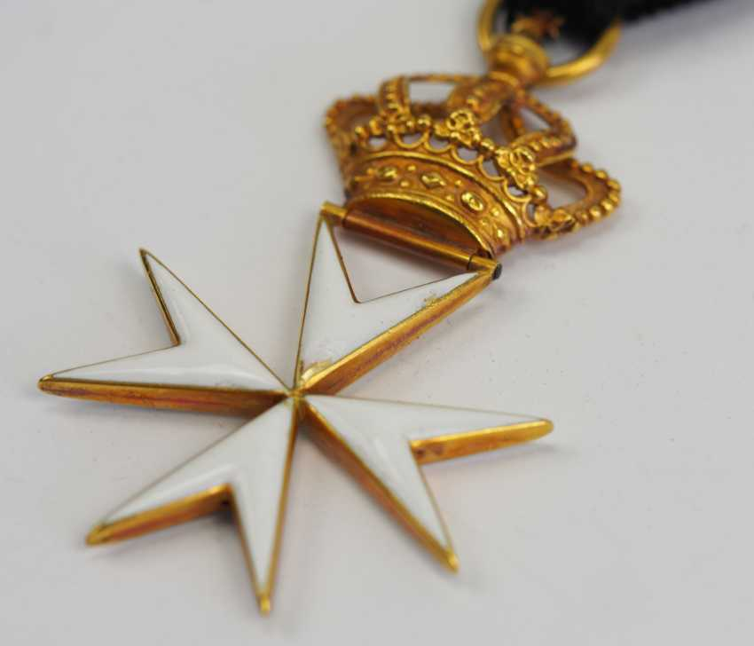 Great Britain: order of St. John (1831-1888), knight's decoration. - photo 3