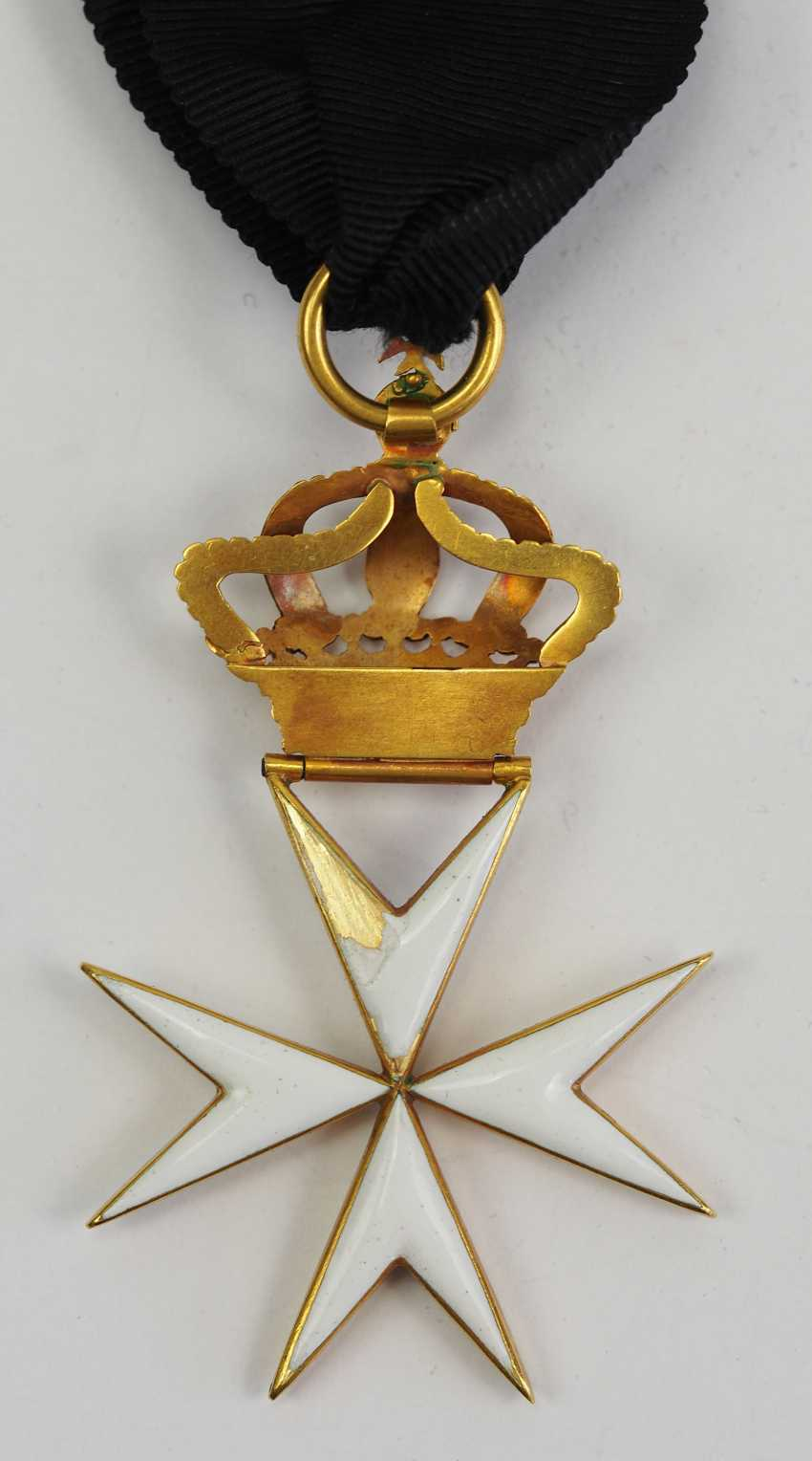 Great Britain: order of St. John (1831-1888), knight's decoration. - photo 4