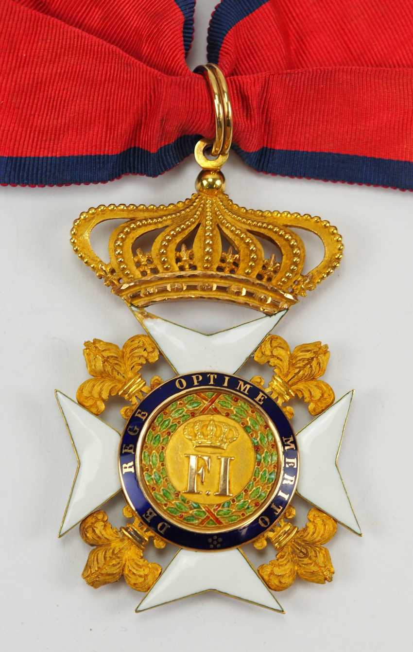 Kingdom Of The Two Sicily: Order Of Francis I, Commander's Cross. - photo 1