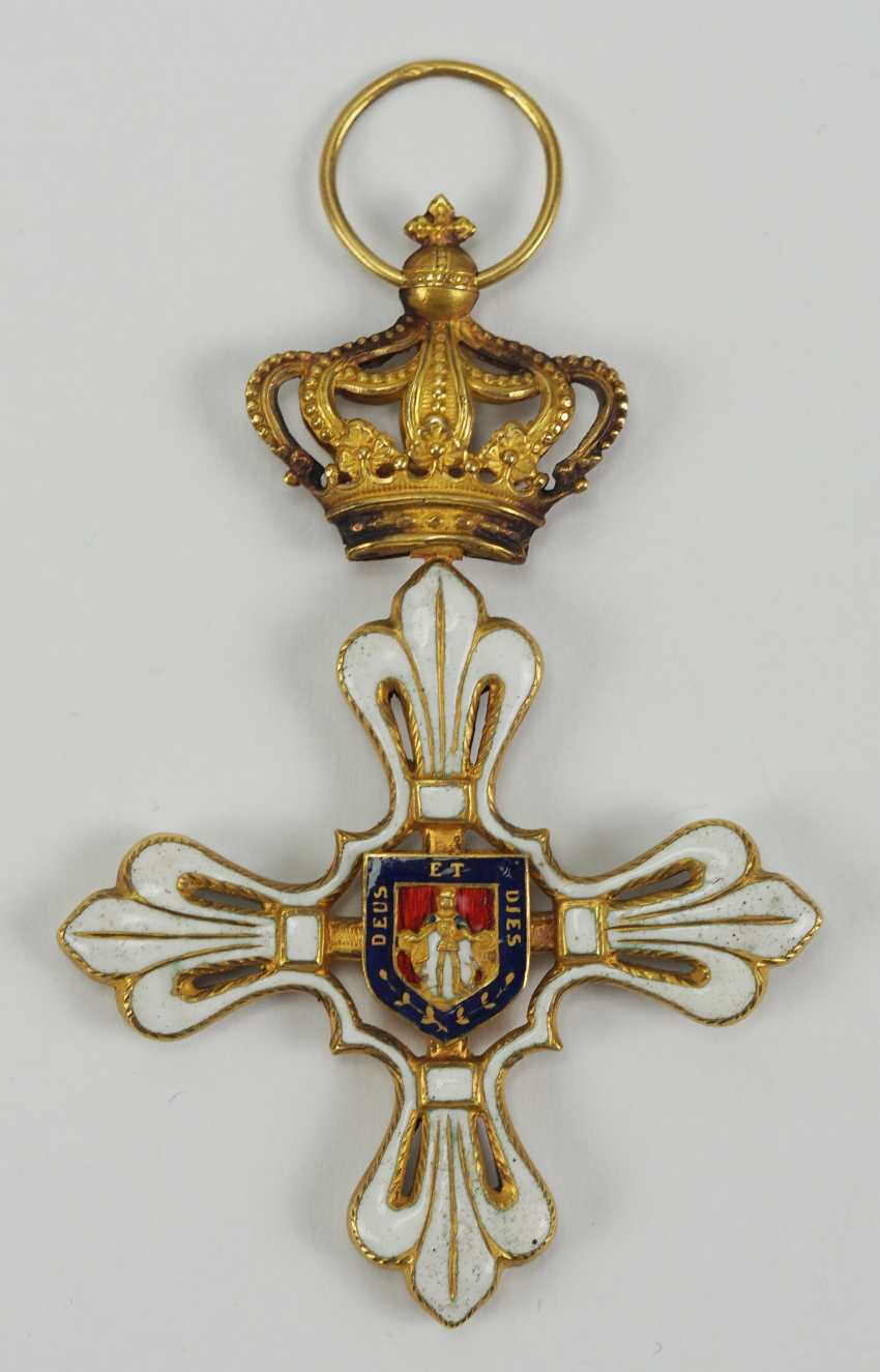 Parma: St. Ludwig-Order, Great Cross Bijou. - photo 1