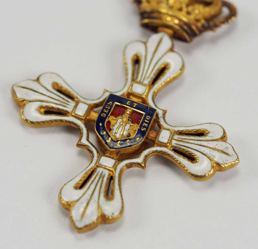 Parma: St. Ludwig-Order, Great Cross Bijou. - photo 2