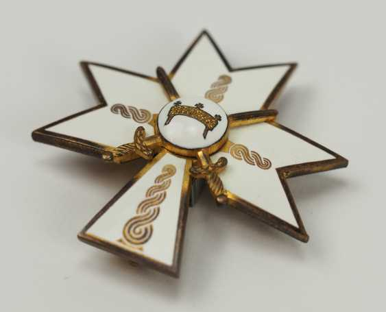 Croatia: order of the crown of king Zvonimir, officer's cross with swords. - photo 2