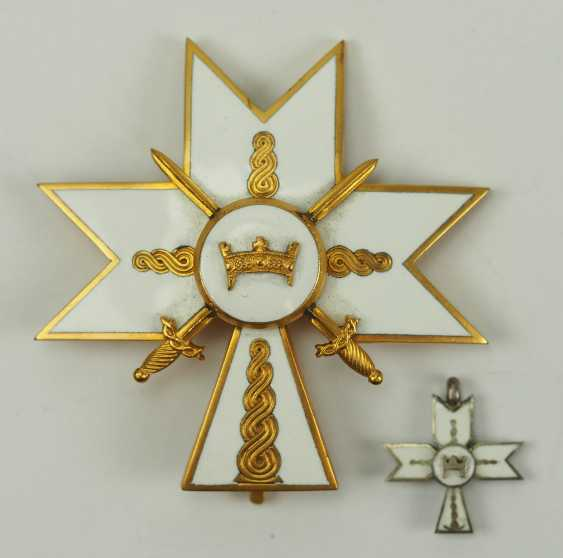 Croatia: order of the crown of king Zvonimirs, officer's cross with swords. - photo 2