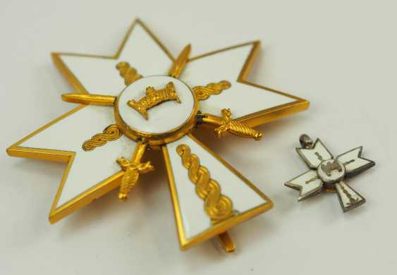 Croatia: order of the crown of king Zvonimirs, officer's cross with swords. - photo 3