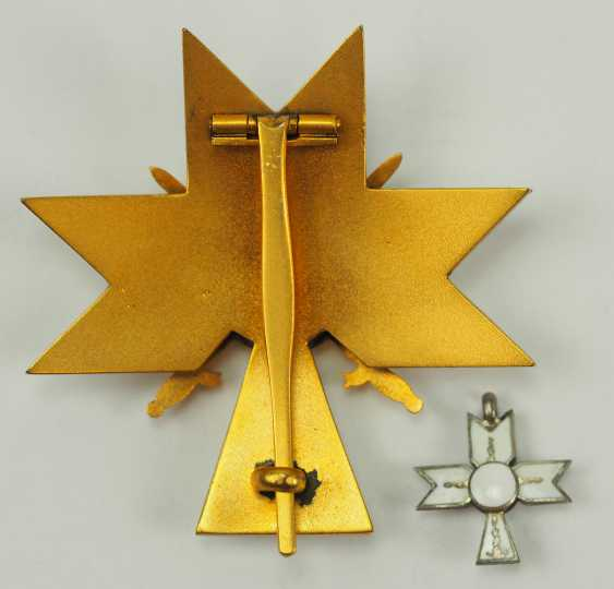 Croatia: order of the crown of king Zvonimirs, officer's cross with swords. - photo 4