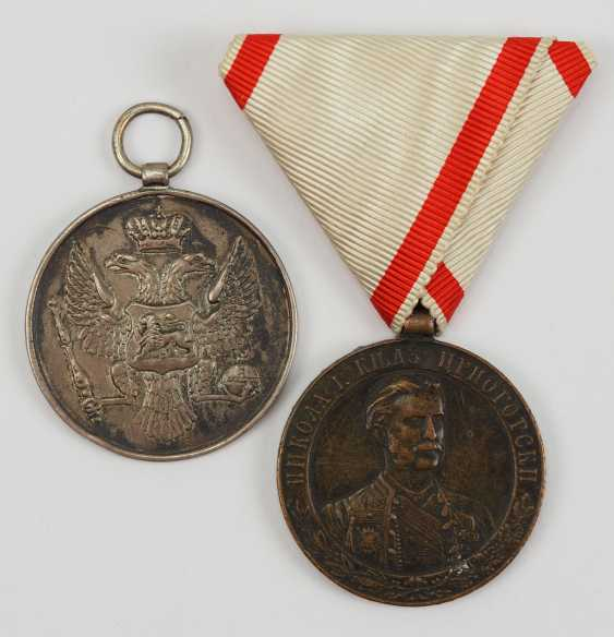 Montenegro: Medal For Bravery, And In 1841, 3. Model. - photo 1
