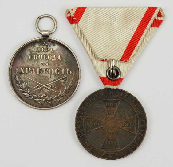 Montenegro: Medal For Bravery, And In 1841, 3. Model. - photo 2