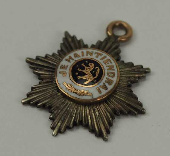 The Netherlands: house order of the Dutch lion, Grand cross breast star miniature. - photo 2