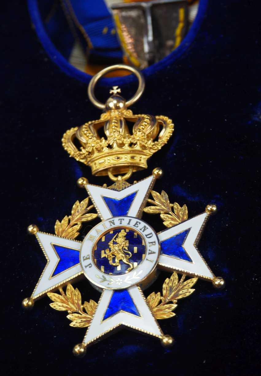 The Netherlands: Oranje-Nassau order, Grand cross set, in a case. - photo 2