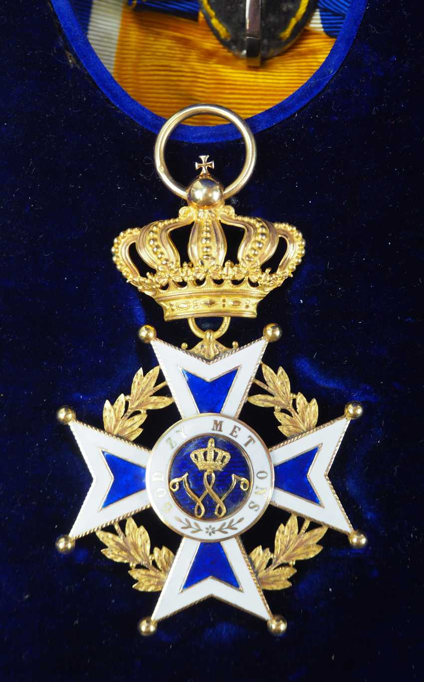 The Netherlands: Oranje-Nassau order, Grand cross set, in a case. - photo 6