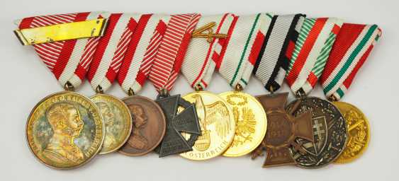 Austria: Medalbar with 9 decorations. - photo 3