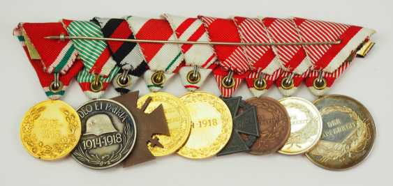 Austria: Medalbar with 9 decorations. - photo 2