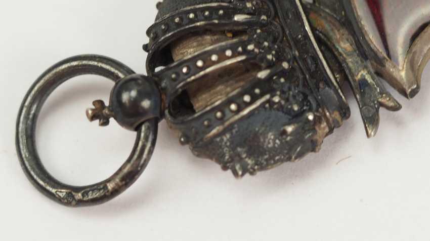 Austria: Imperial Austrian Franz-Joseph-Orden, Silver cross of merit with crown. - photo 3