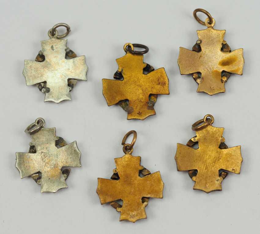 Austria: Lot of 6 war cross for civil merit of the Miniatures. - photo 2