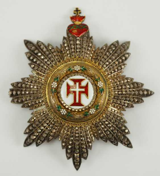Portugal: Military order of our Lord Jesus Christ, 2. Model (1789-1910), Grand Cross Star. - photo 1
