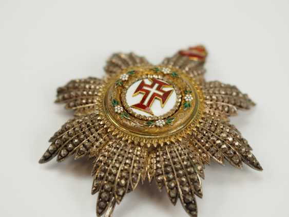 Portugal: Military order of our Lord Jesus Christ, 2. Model (1789-1910), Grand Cross Star. - photo 2