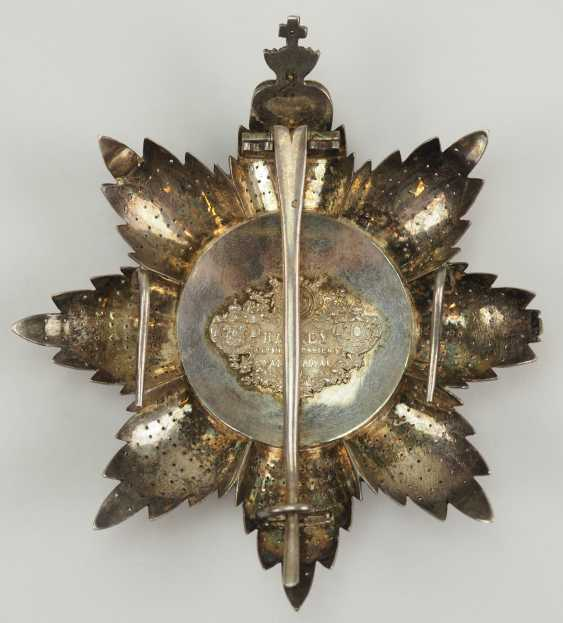 Portugal: Military order of our Lord Jesus Christ, 2. Model (1789-1910), Grand Cross Star. - photo 4