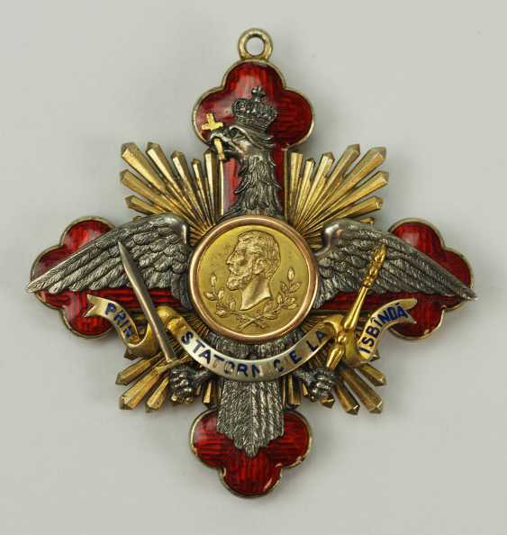 "Romania: Order Of ""Carol I"", Grand Cross Bijou. - photo 1"
