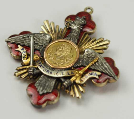 "Romania: Order Of ""Carol I"", Grand Cross Bijou. - photo 2"