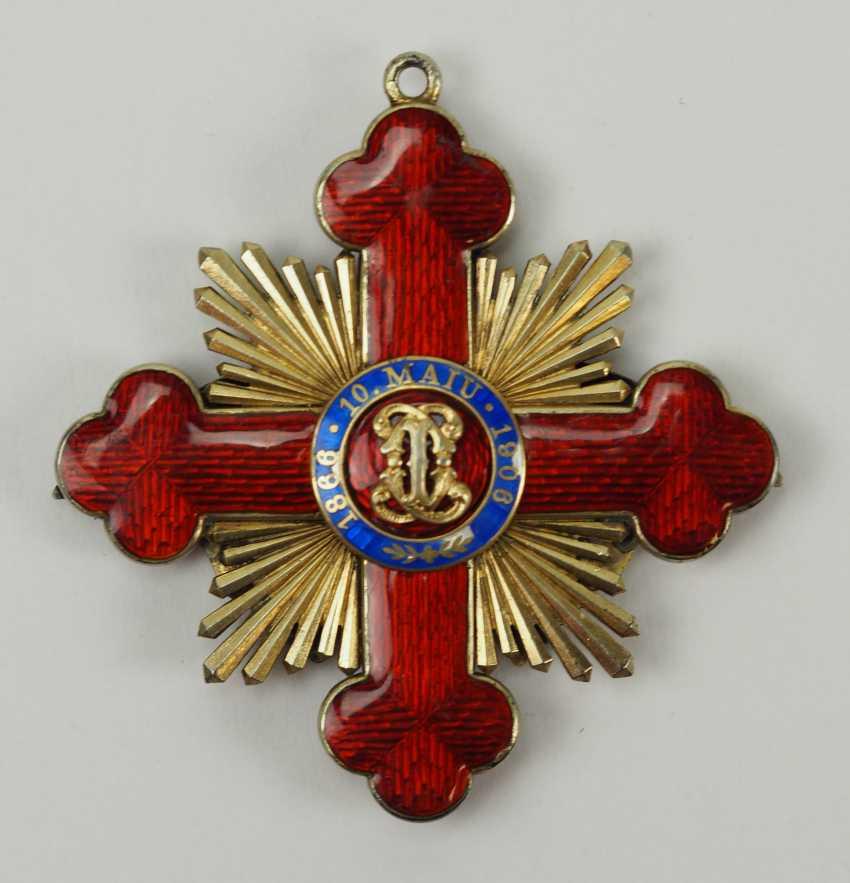 "Romania: Order Of ""Carol I"", Grand Cross Bijou. - photo 3"
