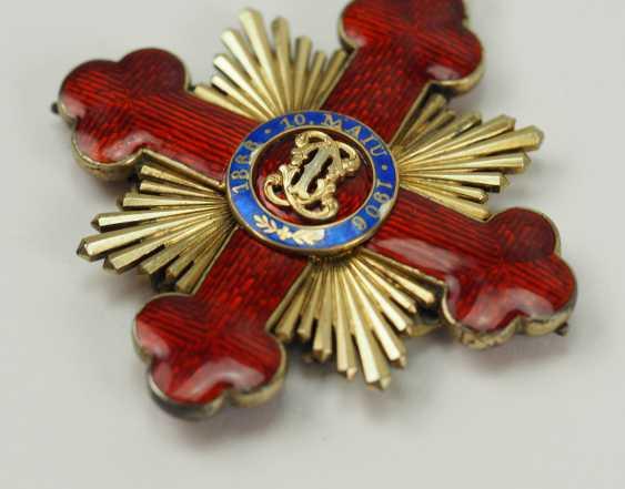 "Romania: Order Of ""Carol I"", Grand Cross Bijou. - photo 4"