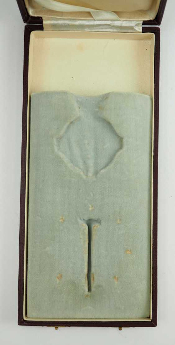 Romania: order of the star of Rumania, 2. Edition (1932-1947), Grand Officer's Case. - photo 2