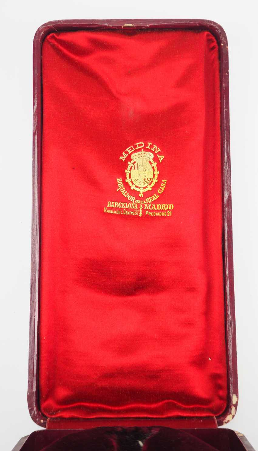 Spain: Military Cross Of Merit With Case, Order, Large. - photo 3