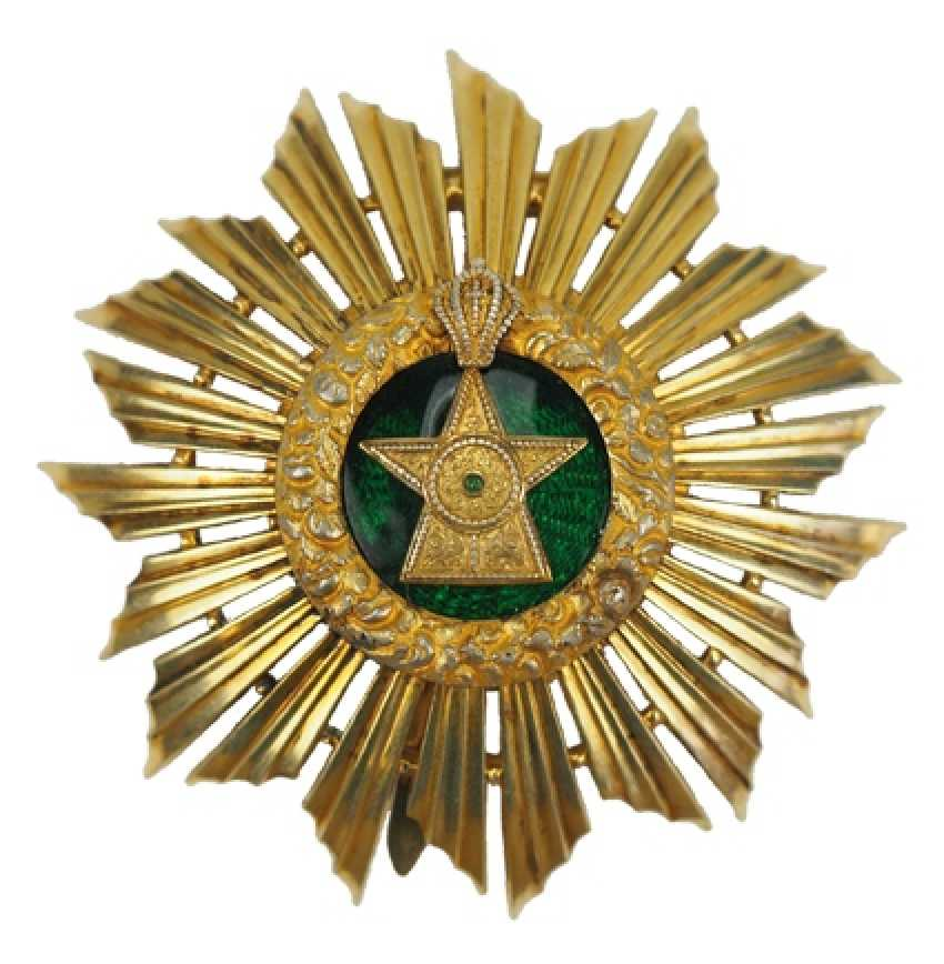 Ethiopia order of the star of Ethiopia; Grand cross star of the special stage. - photo 1