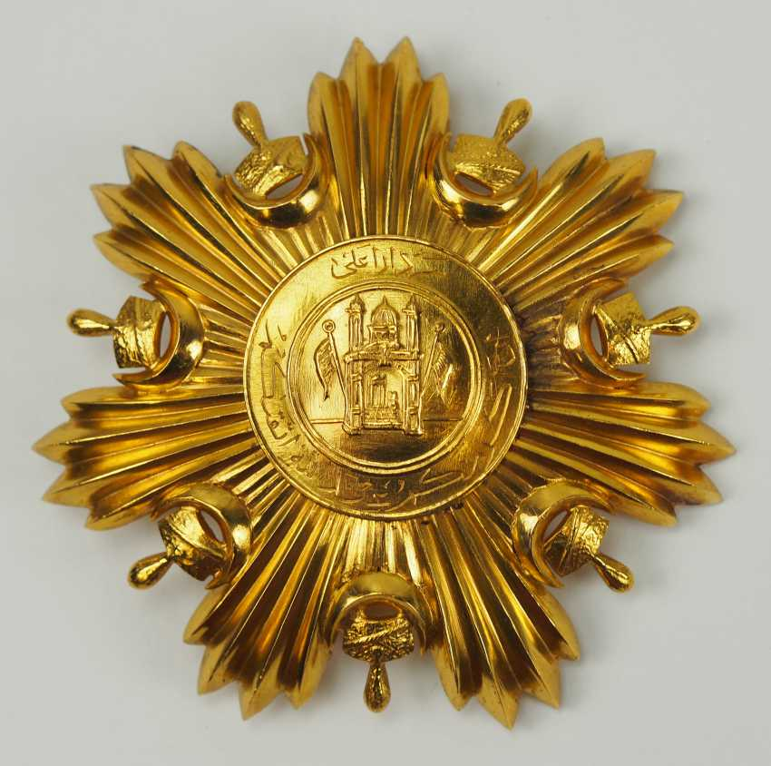 Afghanistan: order of the leader (Nishan-e Sedar), 1. Model (1920-1923), 1. Class Star. - photo 1