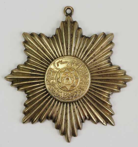 Afghanistan: order of star (Nishan-e Ustur), 3. Model (1926-1929), star of 4. Class. - photo 1