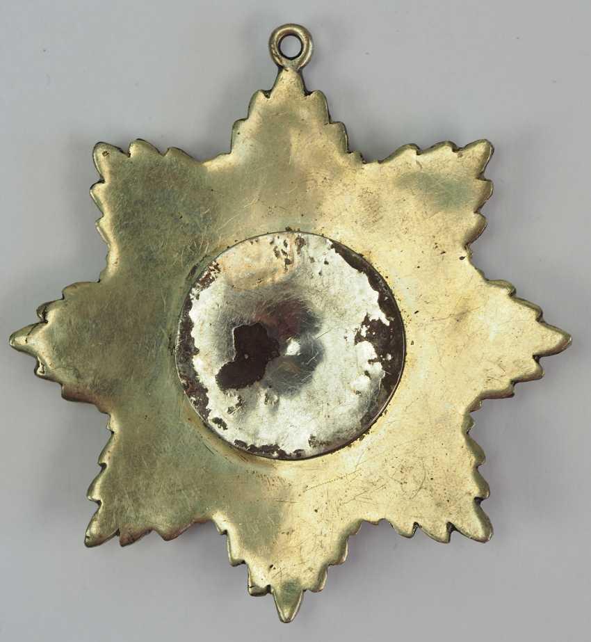 Afghanistan: order of star (Nishan-e Ustur), 3. Model (1926-1929), star of 4. Class. - photo 2