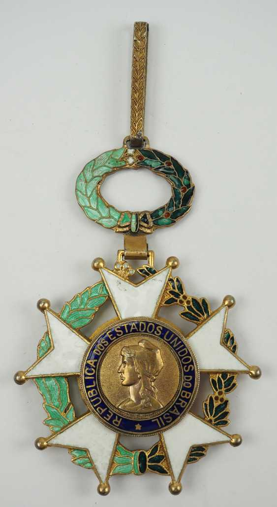 Brazil: the National order of the southern cross 3. Model, 1. Type (1932-1967), Grand Cross. - photo 1