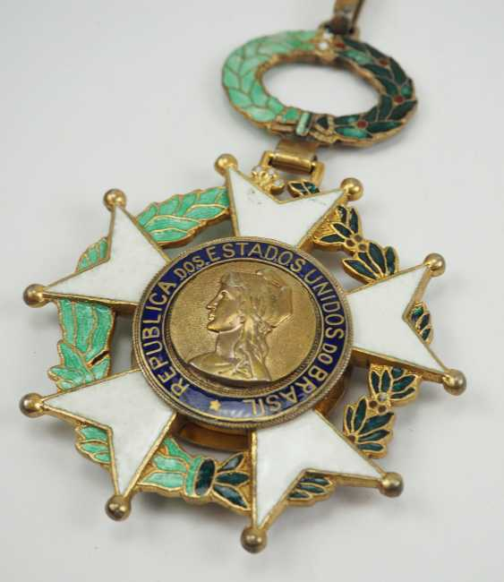 Brazil: the National order of the southern cross 3. Model, 1. Type (1932-1967), Grand Cross. - photo 2
