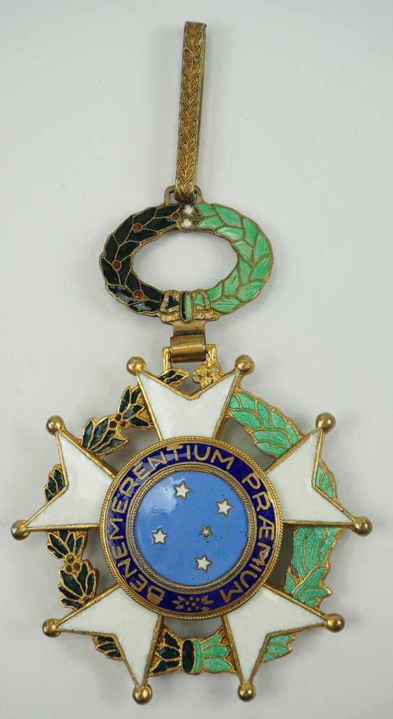 Brazil: the National order of the southern cross 3. Model, 1. Type (1932-1967), Grand Cross. - photo 3