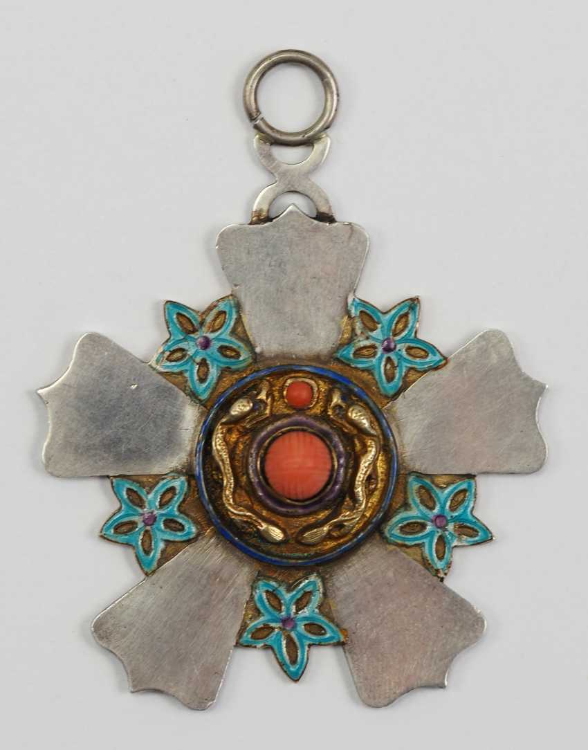 China: order of the Double dragon, 2. Model (1902-1911), 3. Class. - photo 1