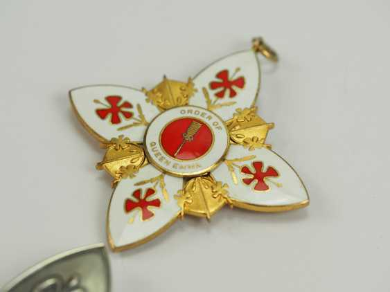 Hawaii: order of the Queen Emma, 1. Class Set. - photo 3
