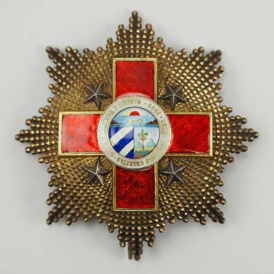 Cuba: order of honour and merit (order of the Red cross), 1. Model, Grand Cross Star. - photo 1
