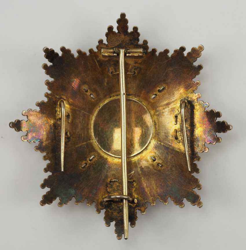 Cuba: order of honour and merit (order of the Red cross), 1. Model, Grand Cross Star. - photo 3