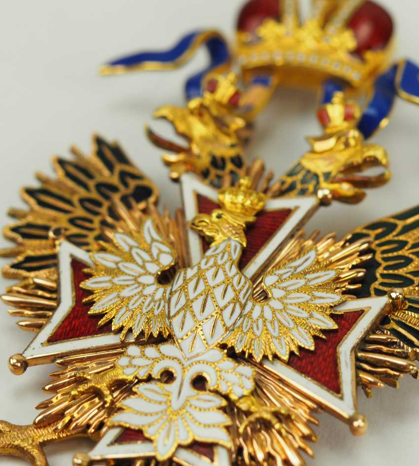 Russia: Imperial and Royal order of the White eagle, gem. - photo 2