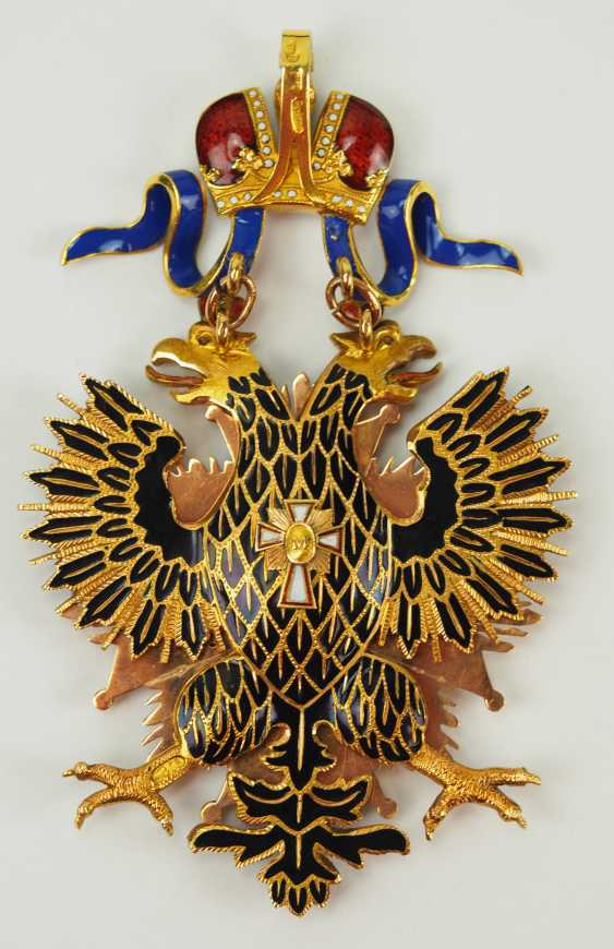 Russia: Imperial and Royal order of the White eagle, gem. - photo 4
