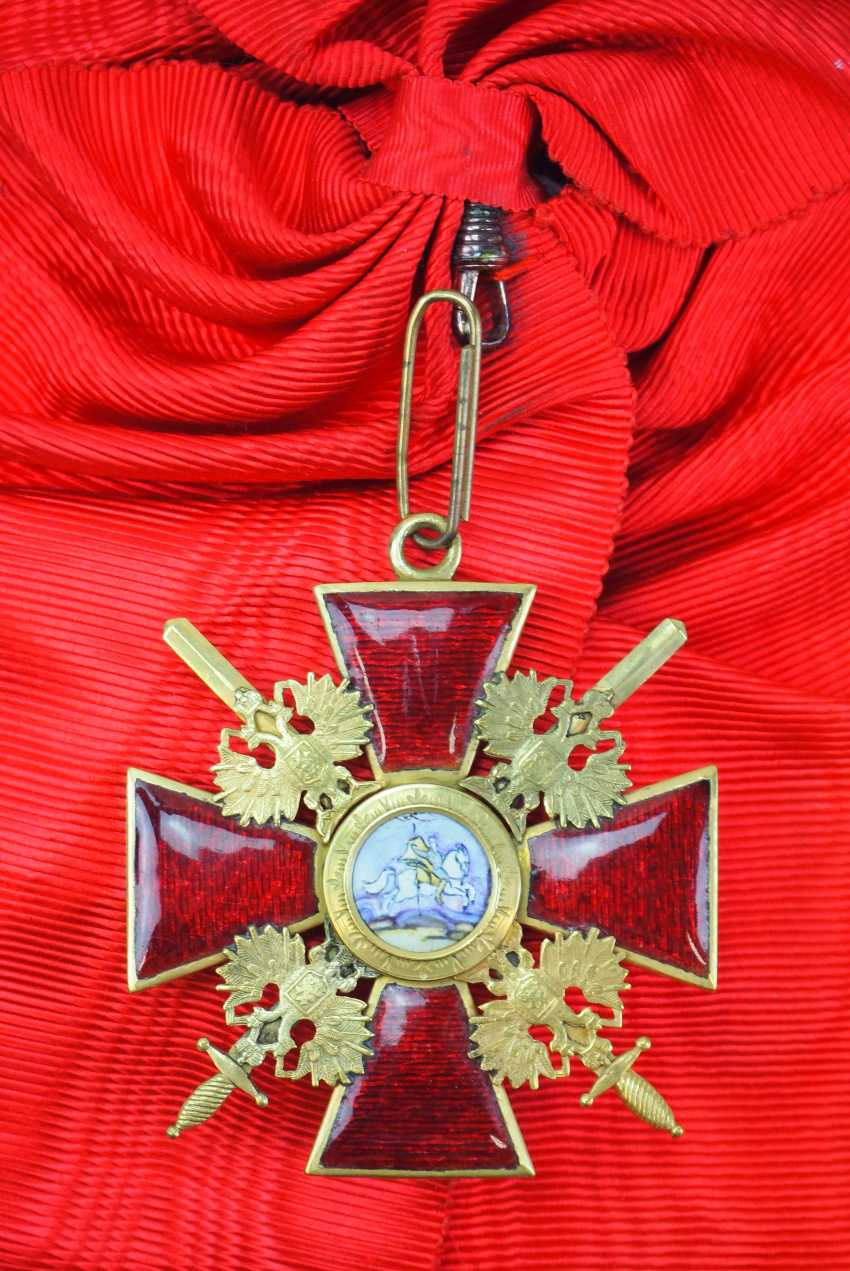 Russia: order of St. Alexander Nevsky, order of the cross with swords. - photo 1