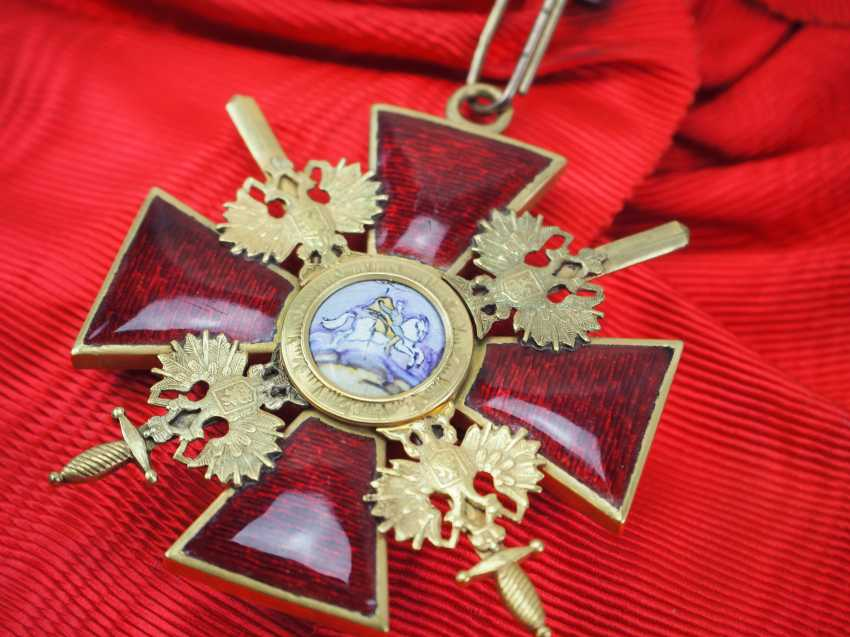 Russia: order of St. Alexander Nevsky, order of the cross with swords. - photo 2