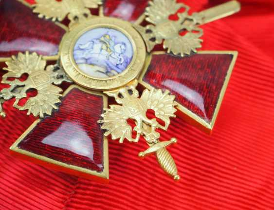 Russia: order of St. Alexander Nevsky, order of the cross with swords. - photo 3