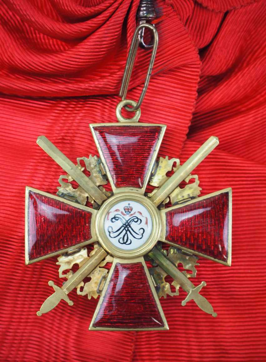 Russia: order of St. Alexander Nevsky, order of the cross with swords. - photo 4
