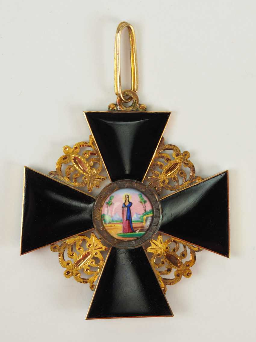Russia: order of St. Anna, 2. Model (1810-1917), 1. Class Gem. - photo 1