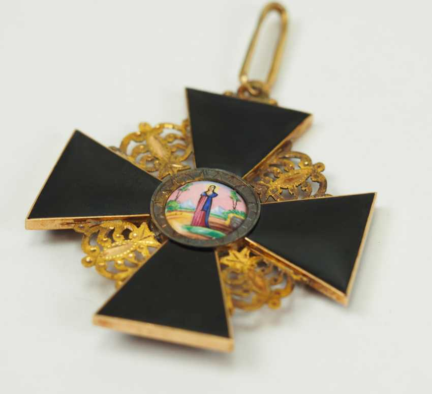 Russia: order of St. Anna, 2. Model (1810-1917), 1. Class Gem. - photo 3
