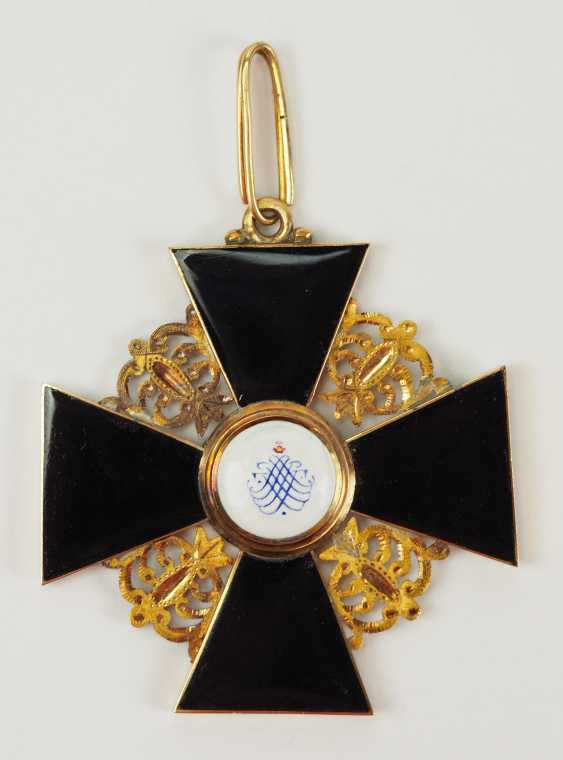 Russia: order of St. Anna, 2. Model (1810-1917), 1. Class Gem. - photo 4