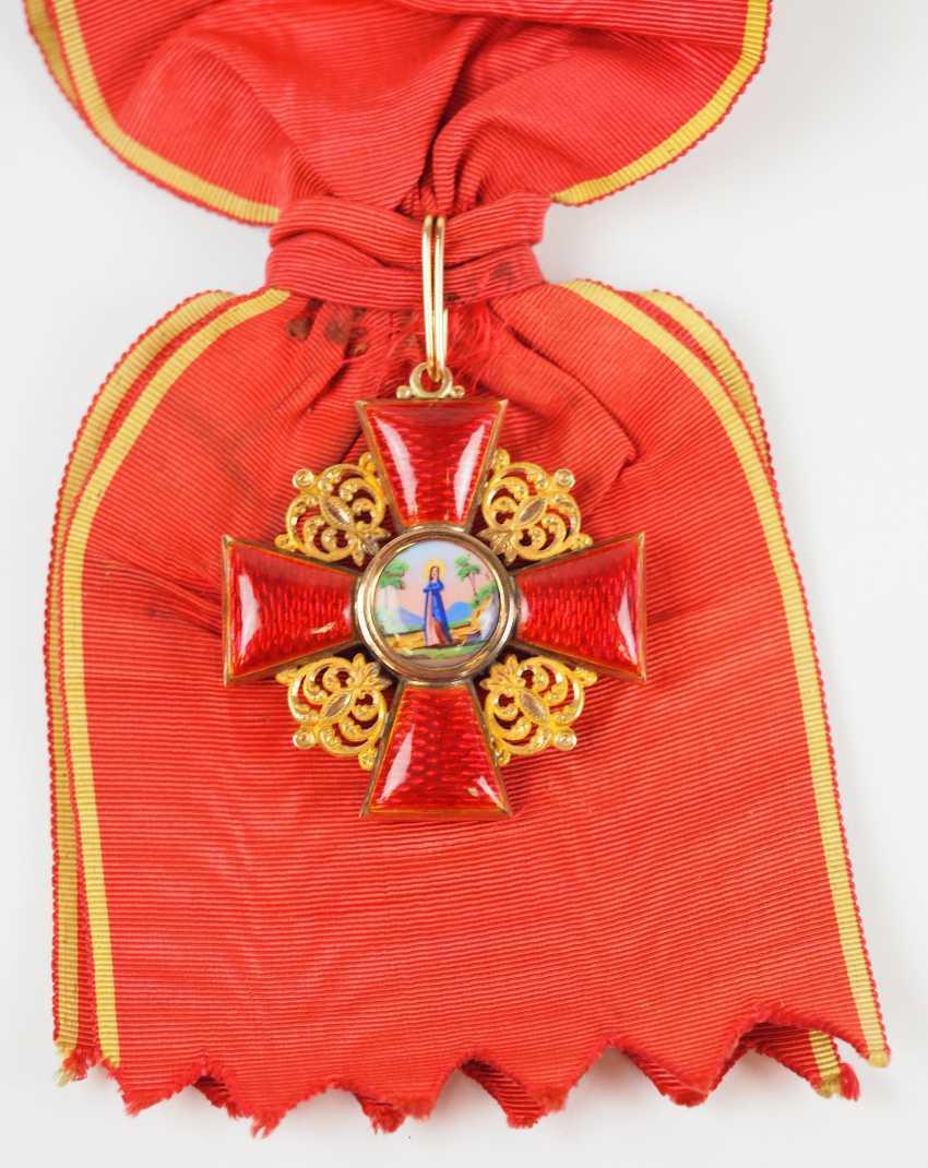 Russia: order of St. Anna, 2. Model (1810-1917), 1. Class Gem. - photo 1