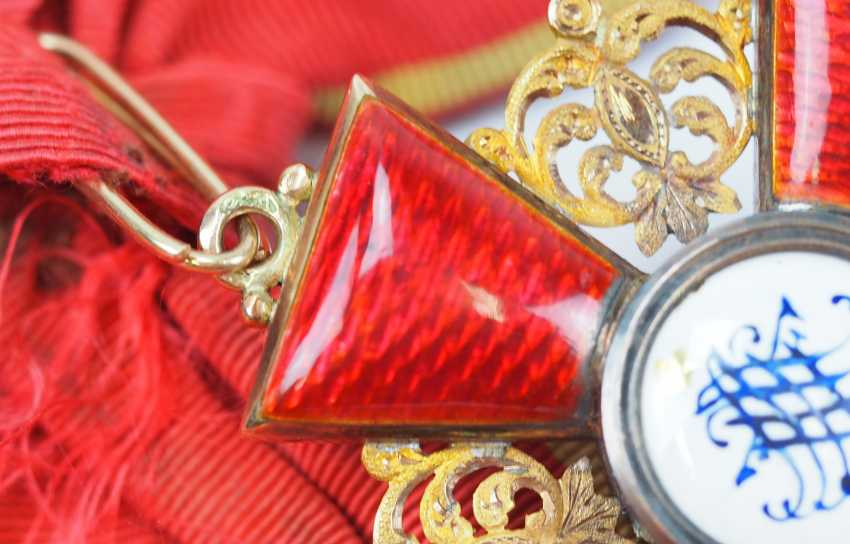 Russia: order of St. Anna, 2. Model (1810-1917), 1. Class Gem. - photo 4