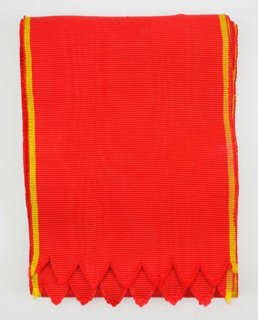 Russia: order of St. Anna, 1. Class Sash. - photo 1
